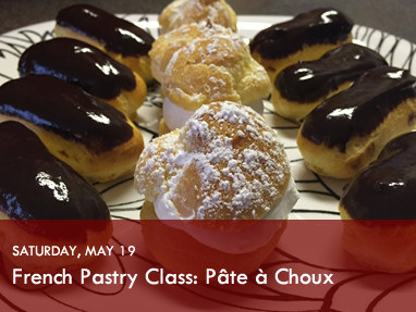 French Pastry Pate a Choux